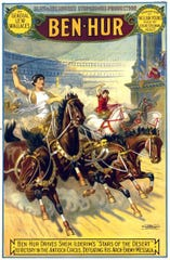 """Ben Hur"" was first filmed in 1907 with a production budget of $500. The film, at 15 minutes, is the shortest adaptation of the famous novel."