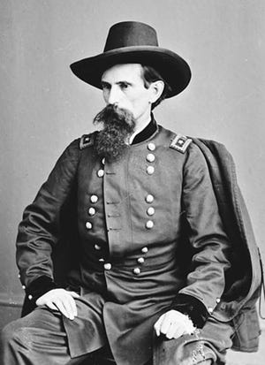 Lew Wallace, a native of east central Indiana, attended the Whitewater Seminary in Centerville during his formative years. As a Civil War general, the delaying action his men implemented outside Washington, D.C. saved it from rebel invasion on July 9, 1864. Wallace later wrote 'Ben Hur: A Tale of the Christ' to assuage his spiritual feelings after the war. He credited a Centerville teacher with interesting him in writing.