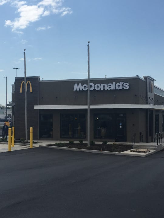 The new McDonald's at 2341 West Ridge Road in Greece.
