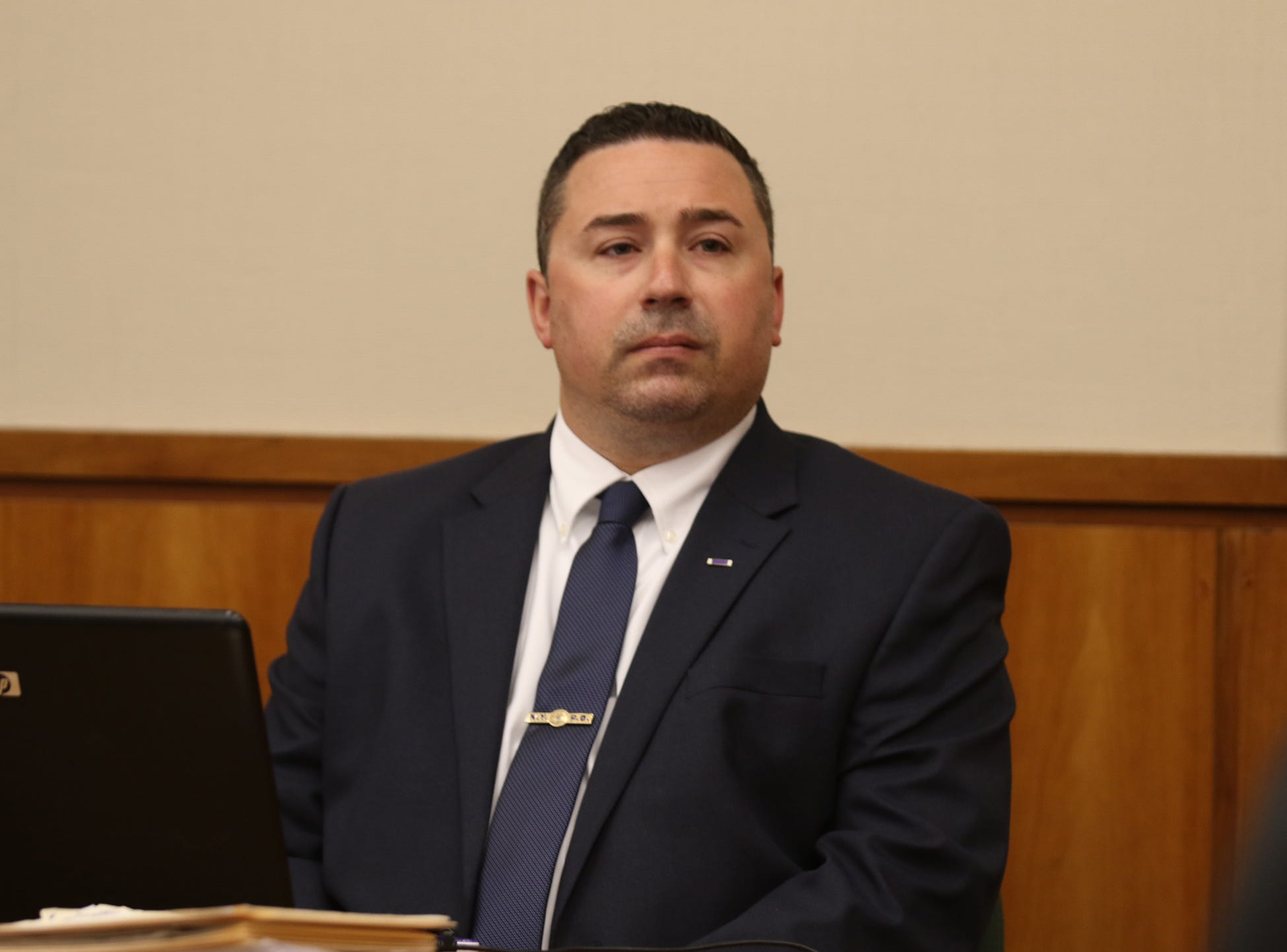 Rochester Police Officer Michael Sippel chose a bench trial.