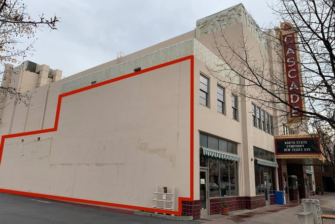 BK Foxx makes oversized murals using spray paint. A Redding resident wants to bring her to Redding to paint her vision of 'Stronger than Carr' on the side of the city's Cascade Theatre. (GoFundMe campaign: https://www.gofundme.com/cascademural)
