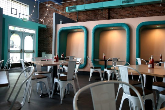 Noble Wave Restaurant and Brewery in downtown Salem on May 13, 2019. The Cajun, Creole and southern food restaurant and bar will open, starting with limited hours, on May 15.