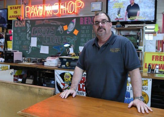 Steve Kottman, general manager of Crazy Louie's