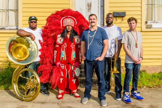 Cha Wa will bring a New Orleans brass band sound to the Levitt AMP Sheboygan Music Series close on August  22.