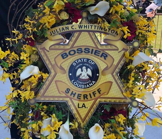 Bossier Parish Sheriff's Office wreath