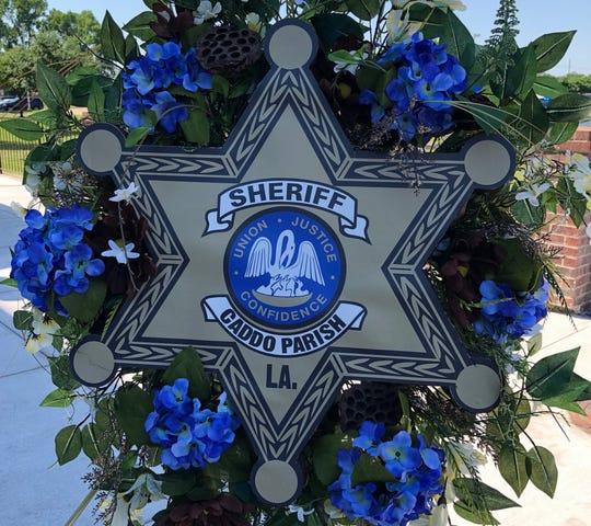 Caddo Parish Sheriff's Office wreath