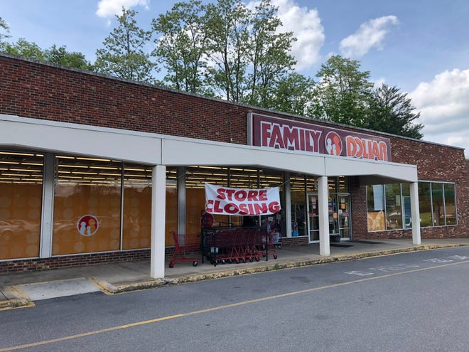 The Family Dollar in the Chestnut Hill Shopping Center in Staunton's west end off of West Beverley Street is set to close, making it the last store in the shopping center to shutter.