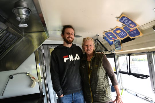Waynesboro-based Bageladies have opened a new food truck called the Bageladies Bagelini Bus. The new truck offers freshly-made bagel paninis ranging in breakfast sandwiches, rotating specials and more. From left to right: Bagelini bus manager Justin Riley and Bageladies co-owner Janet Dob.