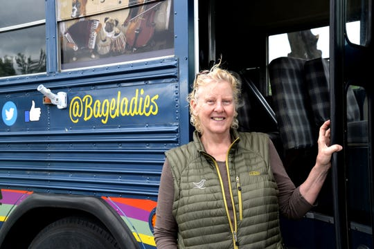 Co-owner Janet Dob of Waynesboro-based Bageladies has opened a new food truck called the Bageladies Bagelini Bus. The new truck offers freshly-made bagel paninis ranging in breakfast sandwiches, rotating specials and more.