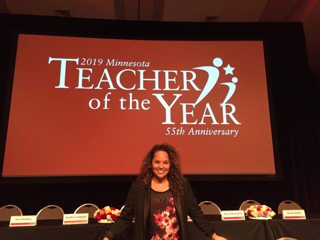 Jessica Davis, a math teacher at South St. Paul Secondary School, is Education Minnesota's 2019 Minnesota Teacher of the Year.