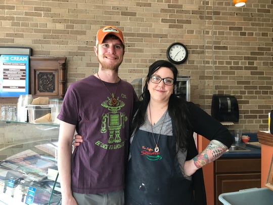 John and Dollie Peters will be the new owners of The Coffee Studio in downtown Stevens Point.
