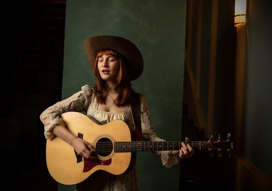 Singer-songwriter Xaris Waltman stops in at 8:30 p.m. Wednesday at Blue Tavern  on her way to the Florida Folk Festival.