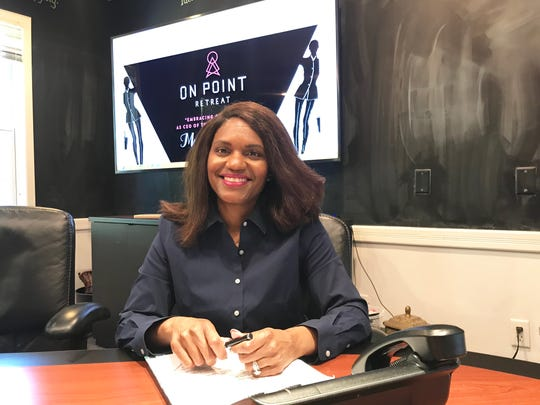 Dr. Tammy Barnett is the organizer of the On Point Retreat. This three-day conference is designed to empower and foster a strong community for wives with a sports marital structure. It takes place May 17-19 at the DoubleTree by Hilton Hotel Tallahassee.