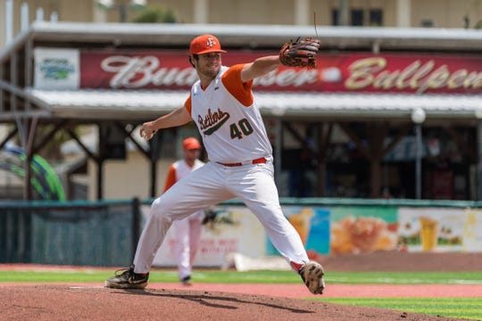 FAMU pitcher Kyle Coleman went the distance in a 13-3 mercy-rule win over Delaware State during the first round of the MEAC Baseball Championship at Jackie Robinson Ballpark in Daytona Beach.