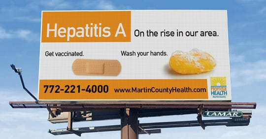 This electronic billboard will be on display in two Martin County locations later this month.