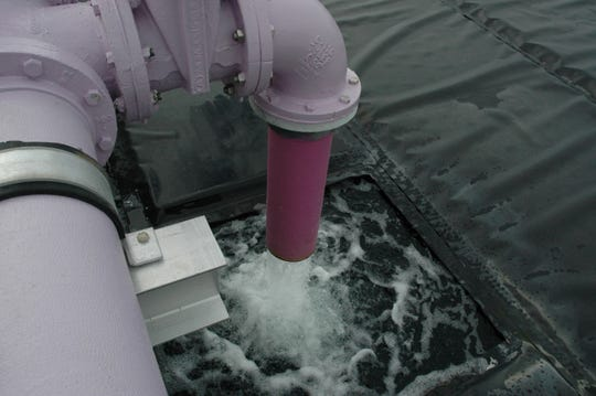 Expansion of the North Hutchinson Island Wastewater Treatment Facility in 2016 increased reclaimed water storage from 1.5 million gallons to 2.55 million gallons.