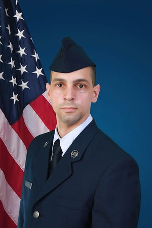 U.S. Air Force Airman 1st Class Reinaldo Padilla