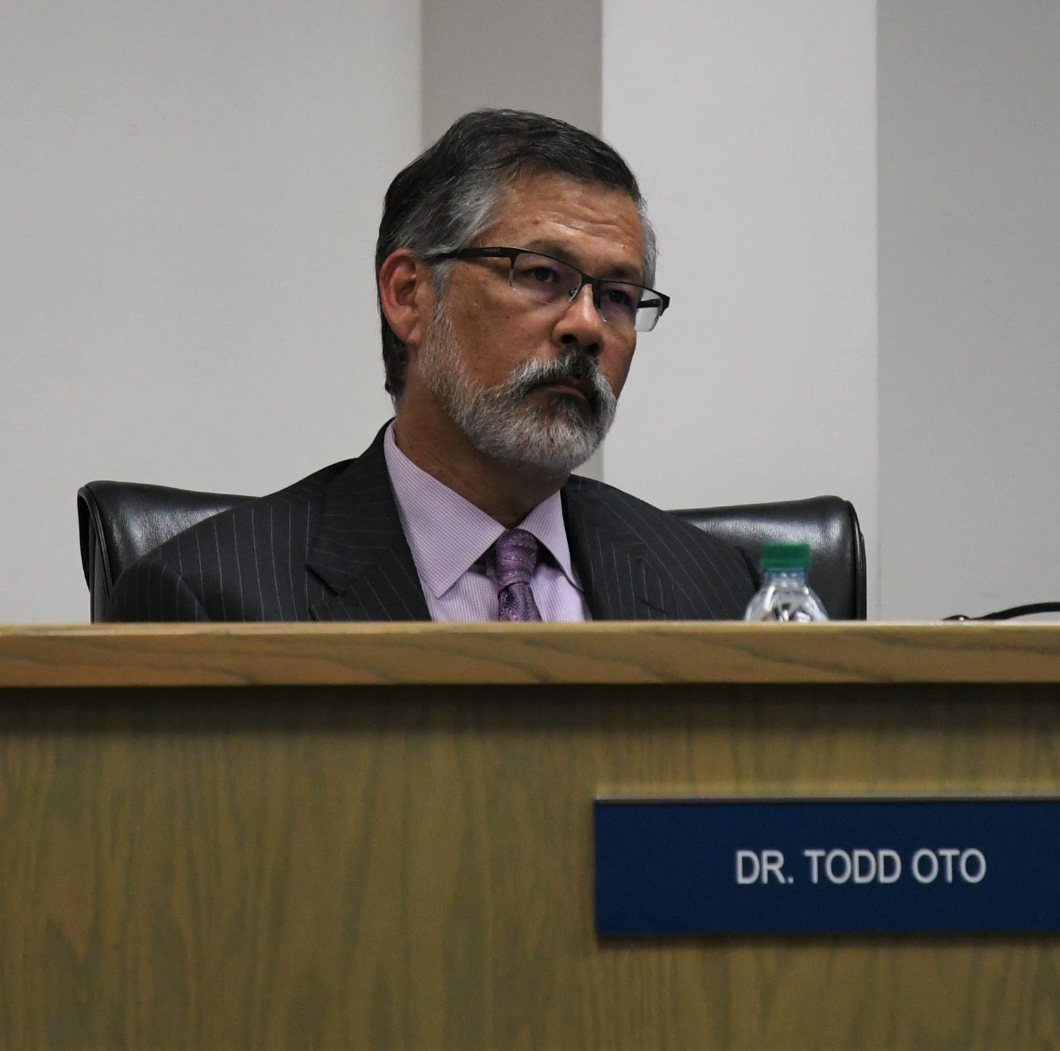 VUSD trustees 'targeted,' accused of trying to be superintendent