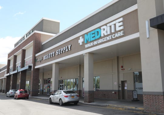 The exterior of MEDRITE, a walk-in urgent care facility in Spring Valley, May 15, 2019.