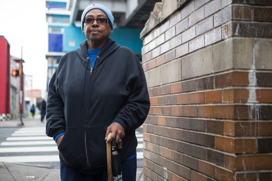 """Janet Day, West Philadelphia: """"The key is to get out and vote because that way we have a better chance, but if they stay home like they did last time we'll have four more years of craziness with Donald Trump."""""""