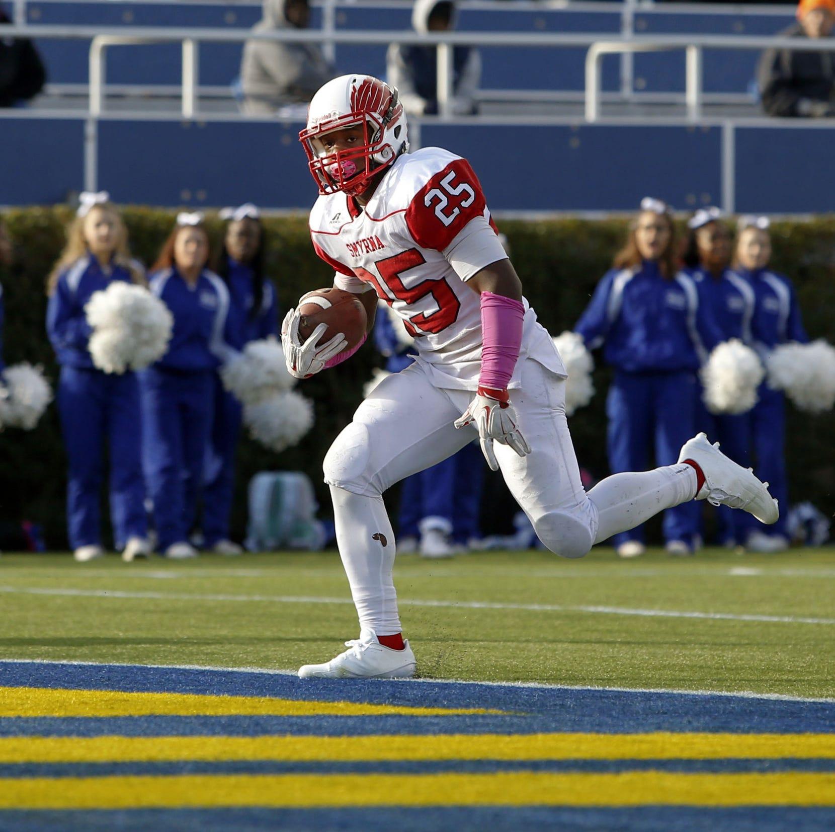 Smyrna running back Knight transferring to University of Delaware from ODU