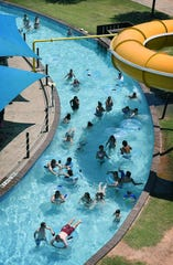 Nellie's Rolling River gives water park patrons a relaxed break from the water slides and other attractions at Castaway Cove Waterpark in this 2018 file photo. The park opens for the season on Friday. Additional safety procedures will be in place to curb the spread of the new coronavirus.