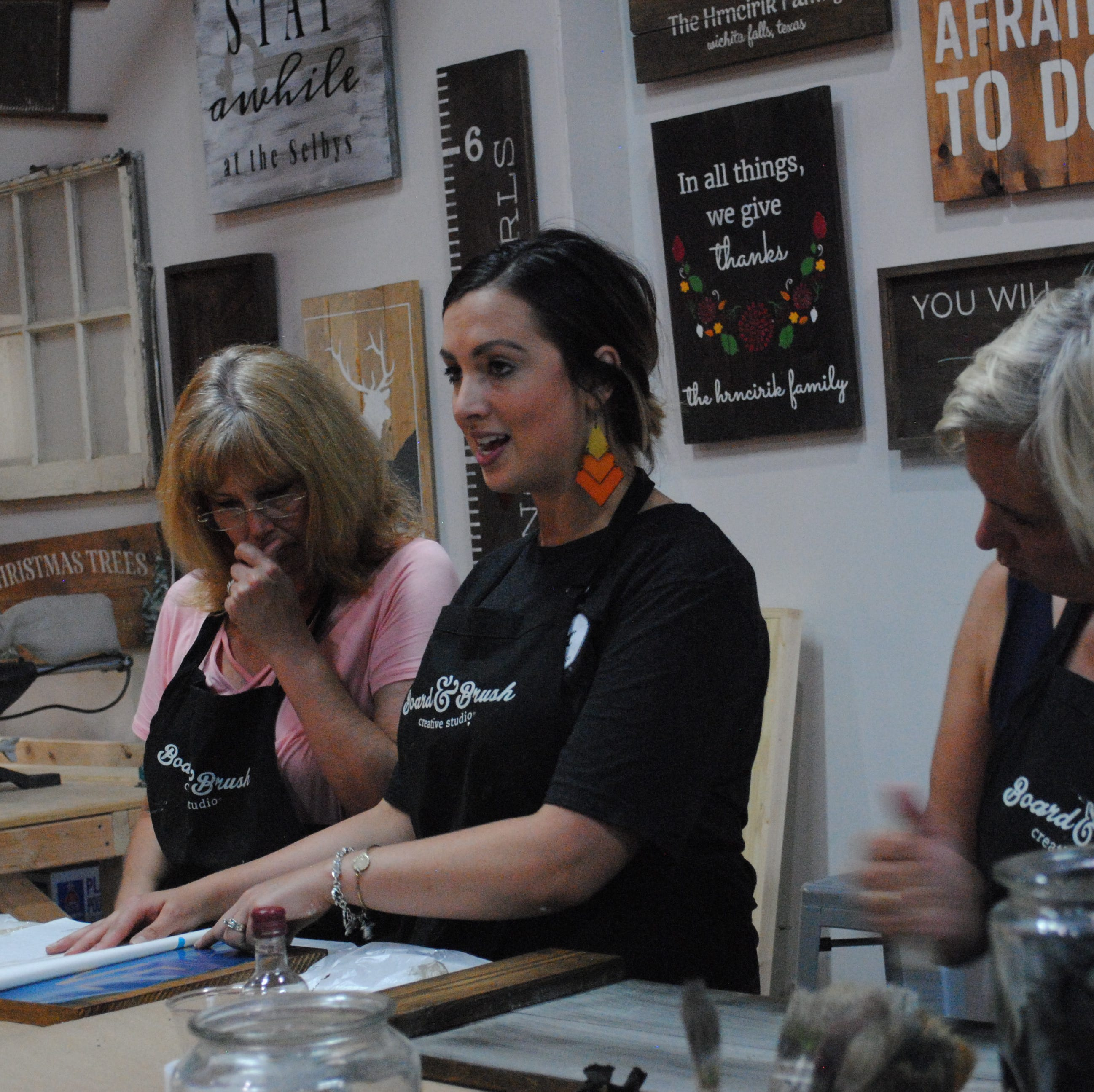 Hard to get too 'board' at city's latest craft studio