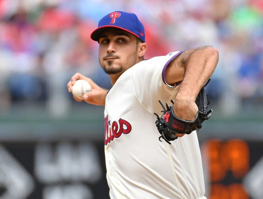 Zach Eflin is the only pitcher in the majors with two complete games.