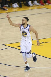 Stephen Curry scored a game-high 36 points in Game 1.