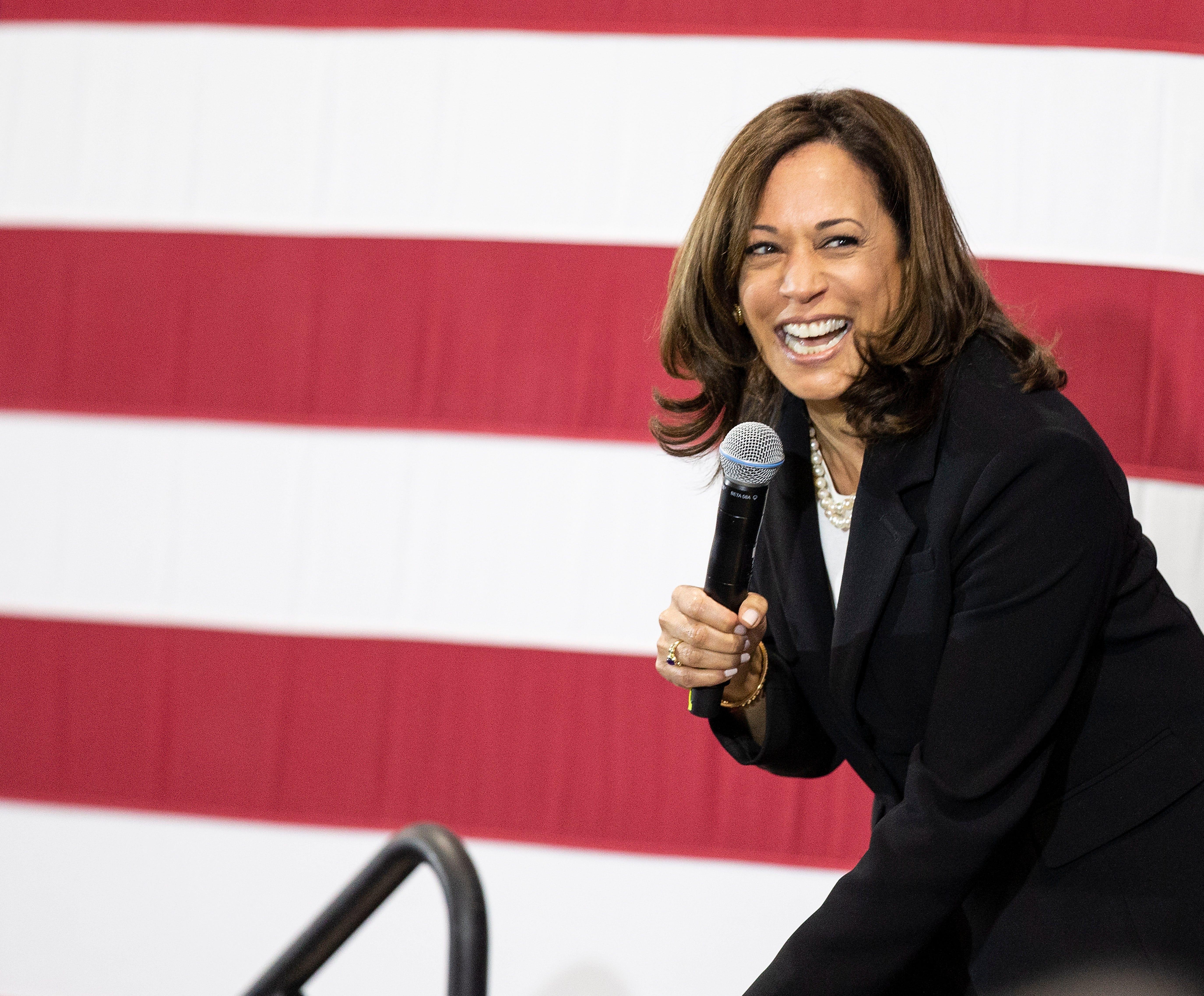 Kamala Harris: 'Joe Biden would be a great running mate'