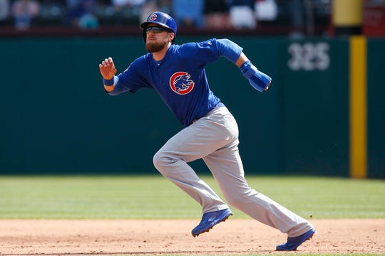 Ben Zobrist said goodbye to the Cubs to deal with their marital problems.