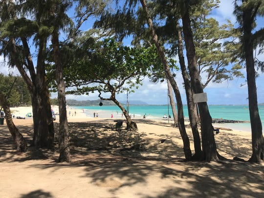 Kailua Beach on the island of Oahu in Hawaii.