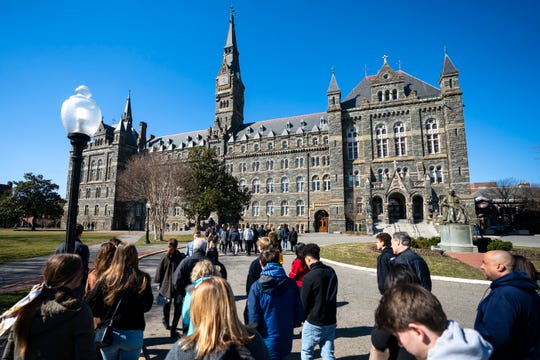 Westlake Legal Group 474de706-2d28-4253-8e0e-729c61fcd17f-georgetown_campus Georgetown to expel student after he sues over its handling of college admissions probe