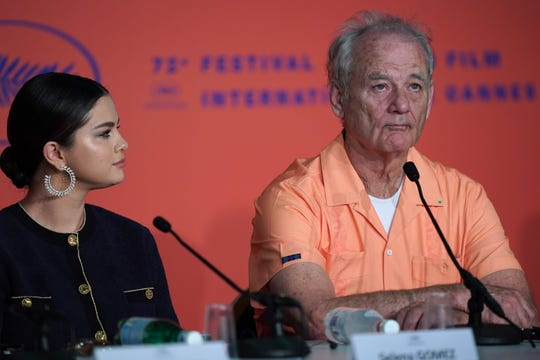 "Selena Gomez is at the Cannes Film Festival to promote her movie ""The Dead Don't Die"" with Bill Murray."