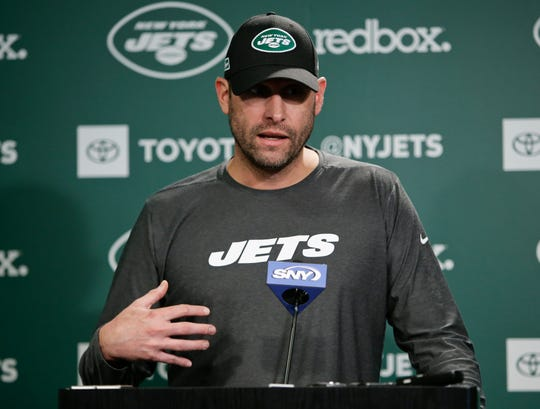 New Jets head coach Adam Gase will also serve as interim GM until fired Mike Maccagnan is replaced.