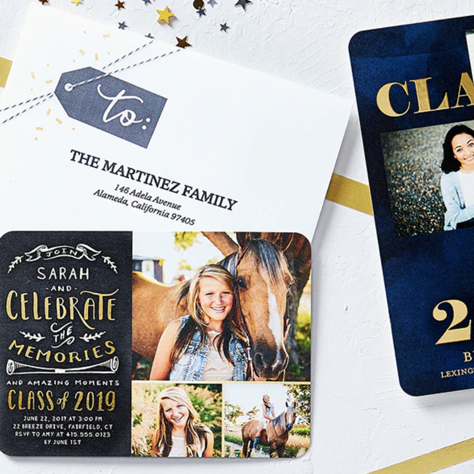 Get a great deal on photo prints and grad invites with Shutterfly.