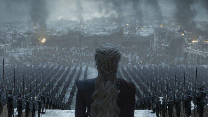 "Emilia Clarke as Daenerys in ""Game of Thrones."""
