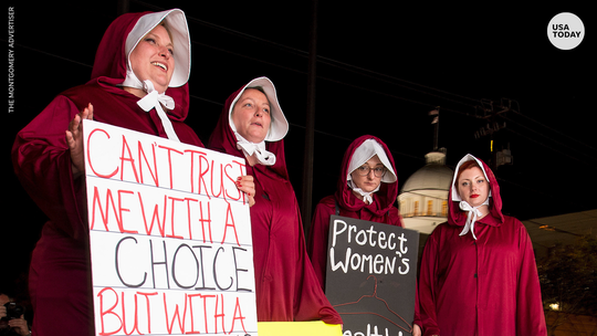 Alabama lawmakers passed a near-total abortion ban. The bill now goes to Gov. Kay Ivey.