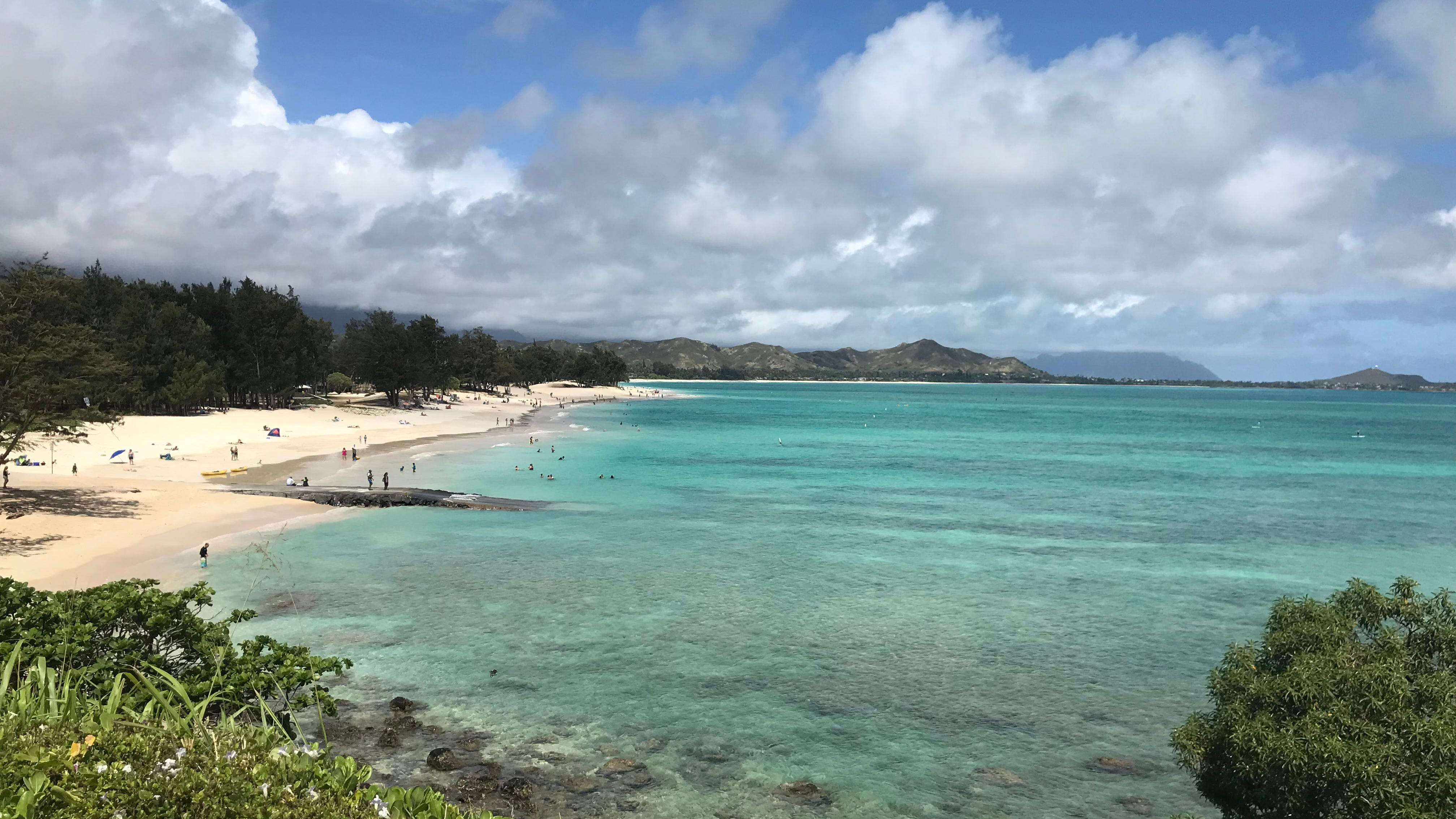 "Kailua Beach, a favorite of former President Barack Obama, has earned many accolades including the top beach in the world by ""Dr. Beach.''"