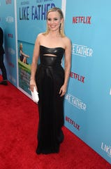 """HOLLYWOOD, CA - JULY 31:  Kristen Bell attends the premiere of Netflix's """"Like Father"""" at ArcLight Hollywood on July 31, 2018 in Hollywood, California.  (Photo by Kevin Winter/Getty Images) ORG XMIT: 775195384 ORIG FILE ID: 1008637352"""