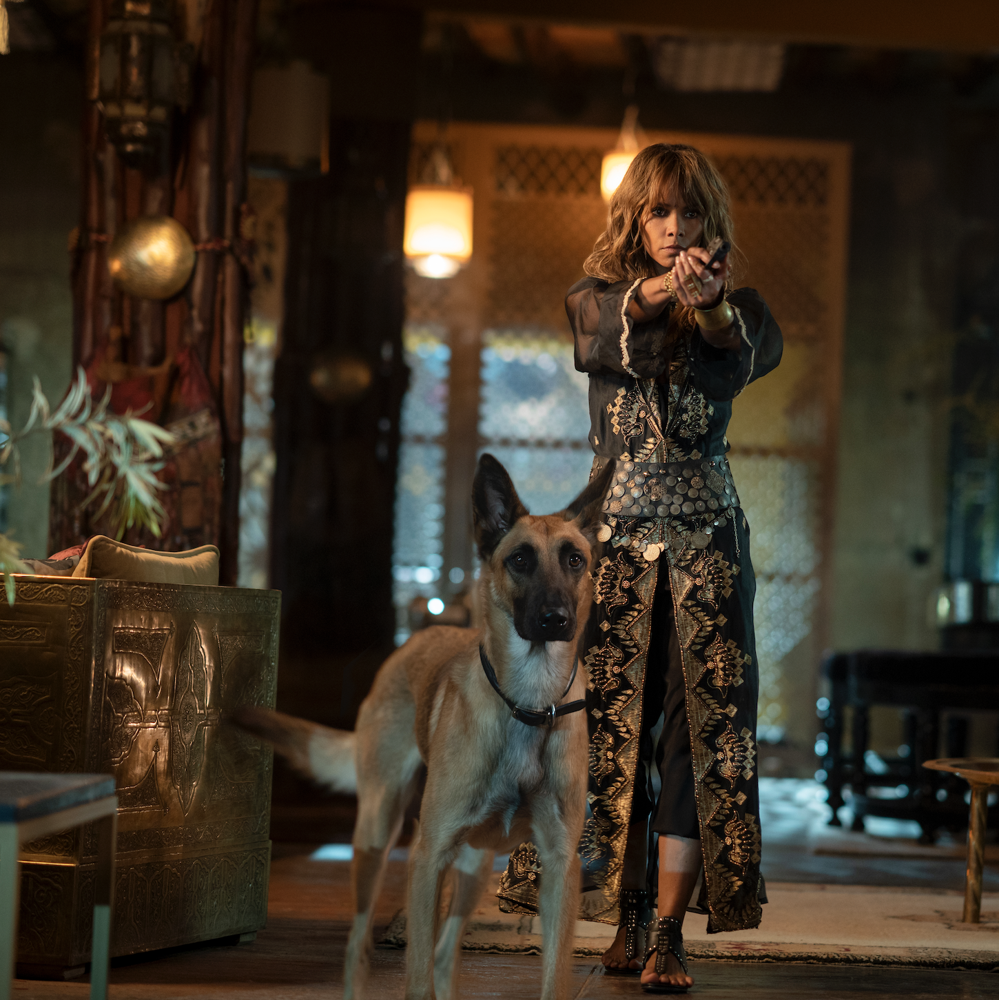"Halle Berry trained so she could do almost all of her own fighting and shooting as Sofia in ""John Wick: Chapter 3 – Parabellum."""