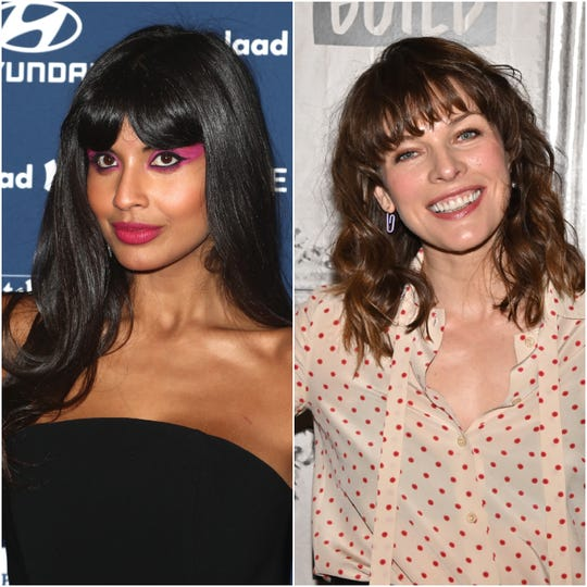Actresses Jameela Jamil and Milla Jovovich are sharing details of their own abortions to show the danger restrictive new legislation poses to women.