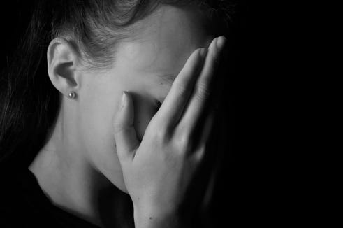 Girls are experiencing  a greater percentage increase in suicide rates than boys.