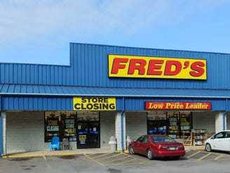 Fred's to close all of its stores in Chapter 11 bankruptcy liquidation