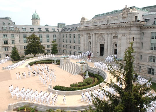 The U.S. Naval Academy says it has withdrawn the appointment of an incoming member after an investigation into racist and inappropriate remarks.