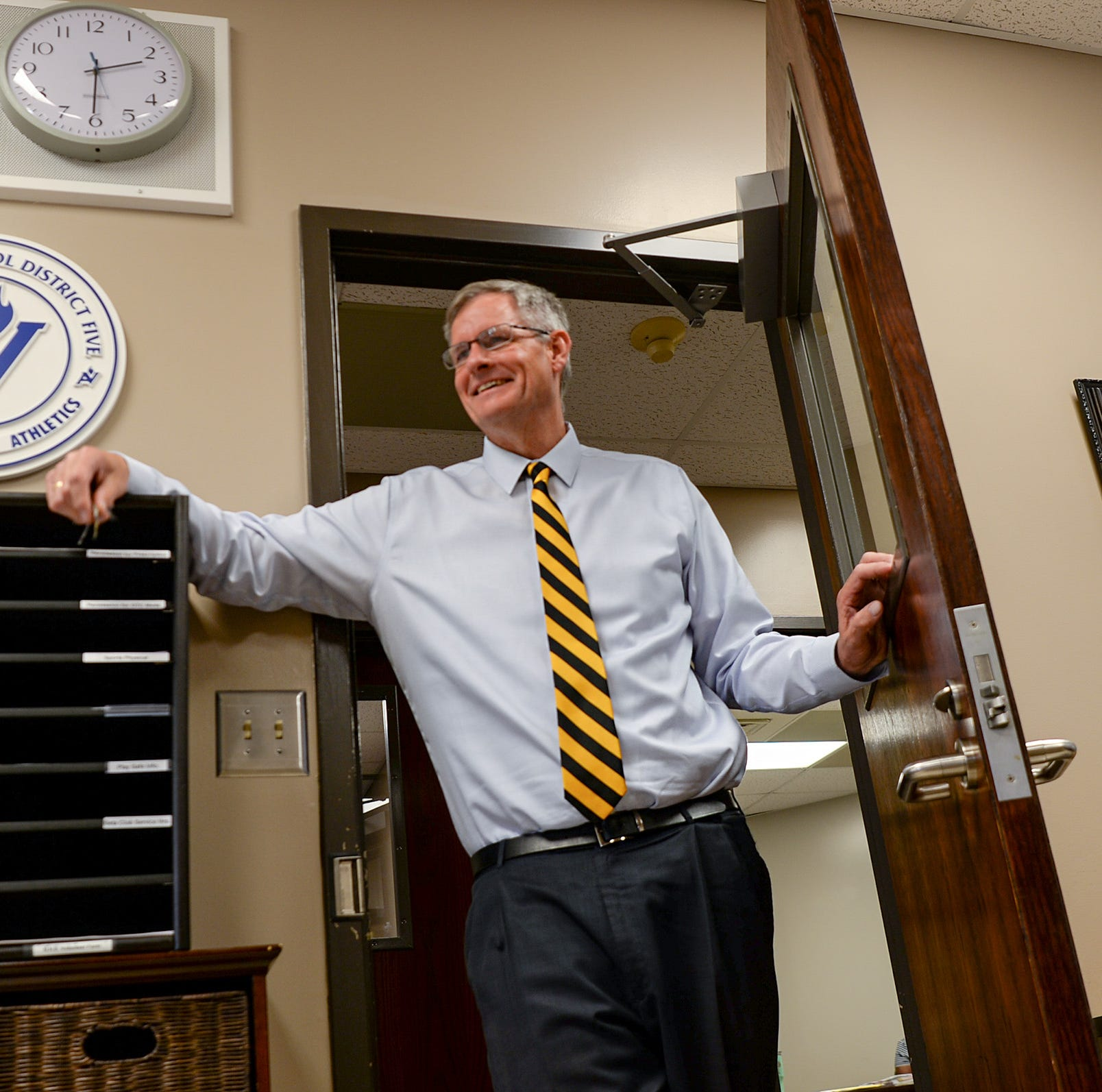 He 'despised school' and 'got in trouble.' Then he left his mark leading T.L. Hanna High