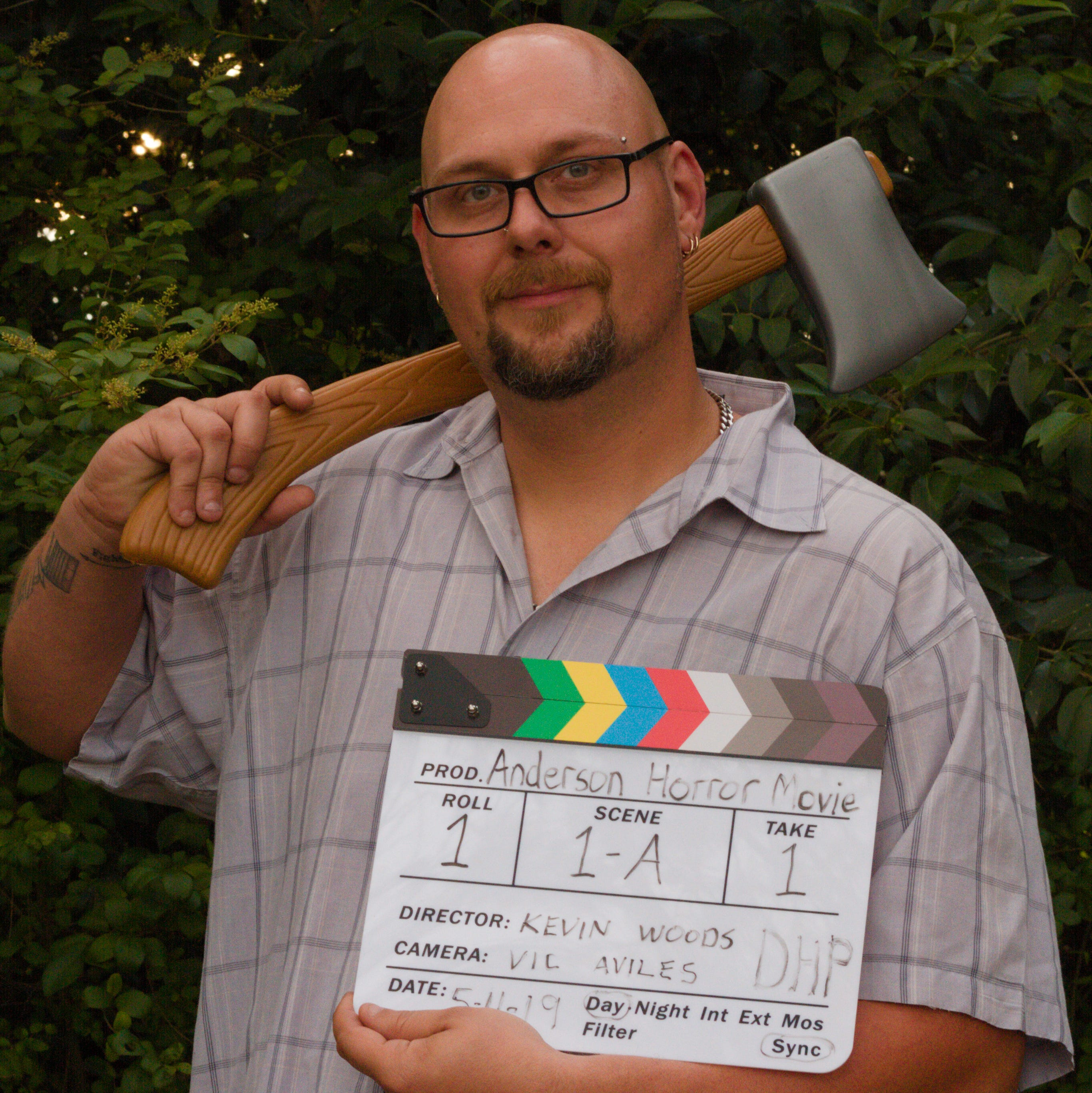 Anderson County filmmaker shooting horror film using hometown actors and crew only