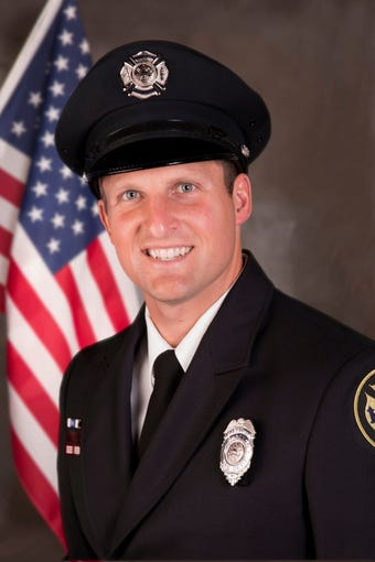 The funeral for Mitchell Lundgaard, the Appleton firefighter who was killed in a shooting last week, took place at Appleton Alliance Church.