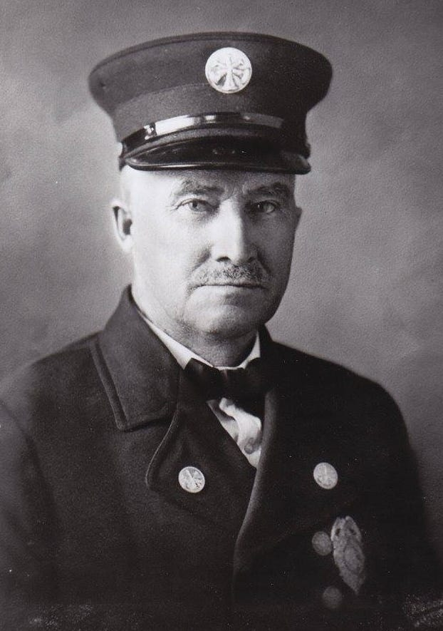 Assistant Fire Chief Michael Calnin