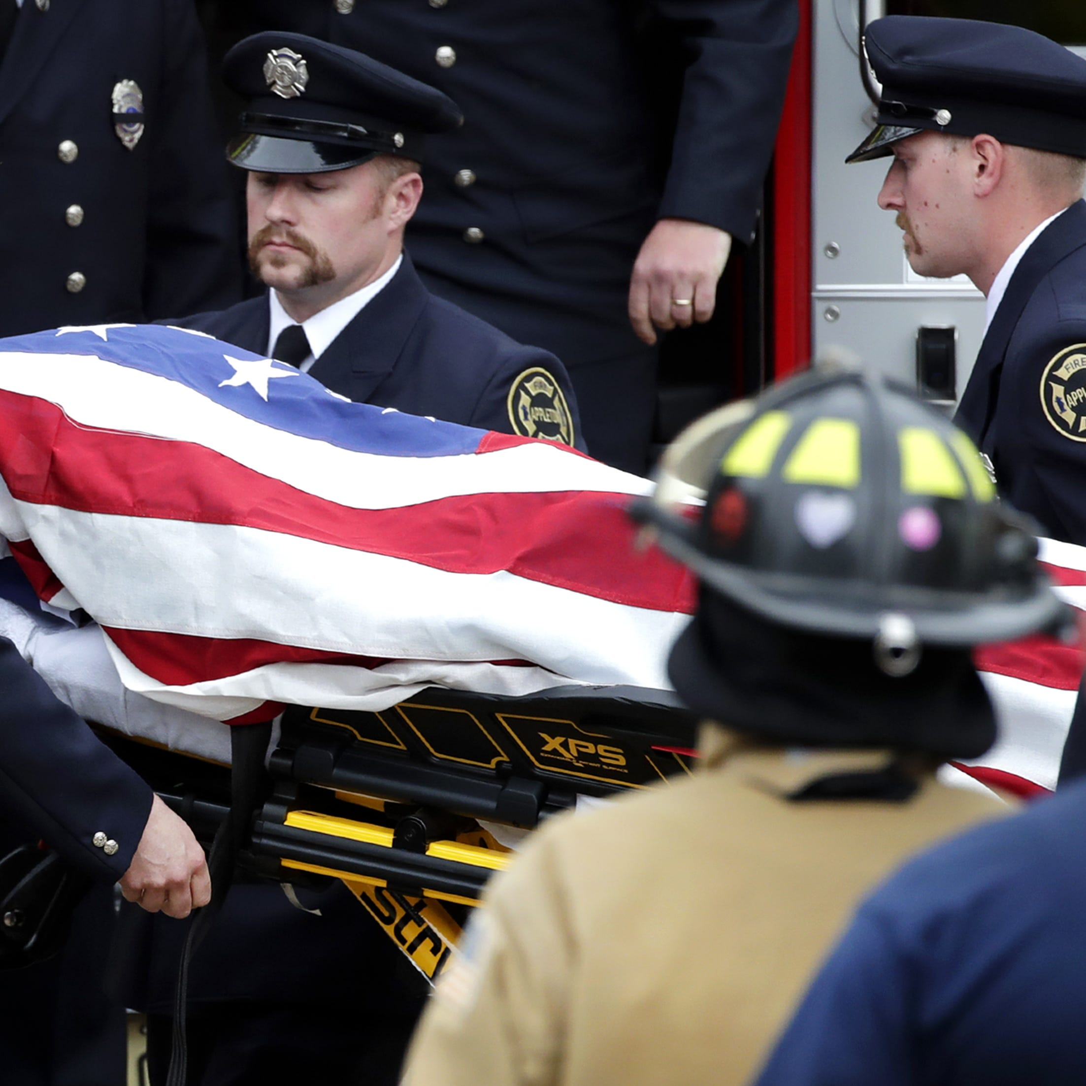 Appleton firefighter who died Wednesday is the fourth to have fallen and the first since 1933